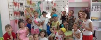 Dzień Dziecka w manufakturze słodyczy