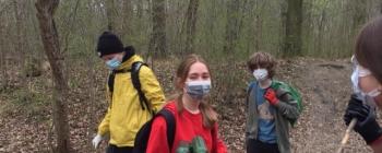 Sprzątanie Lasu Pilczyckiego