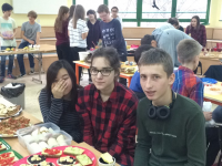 Śniadanie daje moc / Breakfast Gives Power 11.2015 - Gimnazjum i klasy IB / Junior High and IB